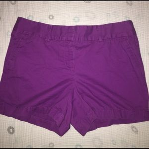 Ann Taylor Royal Purple Shorts